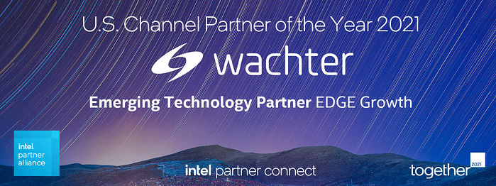 Wachter Intel Award - Emerging Technology Partner of the Year 2021 - Edge Growth