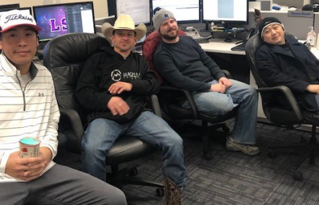 Wachter electrical team employees support Make-a-Wish Foundation through Hat Day