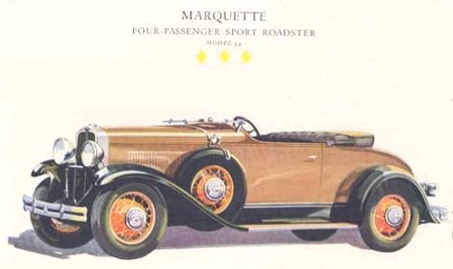 Marquette Roadster from 1930