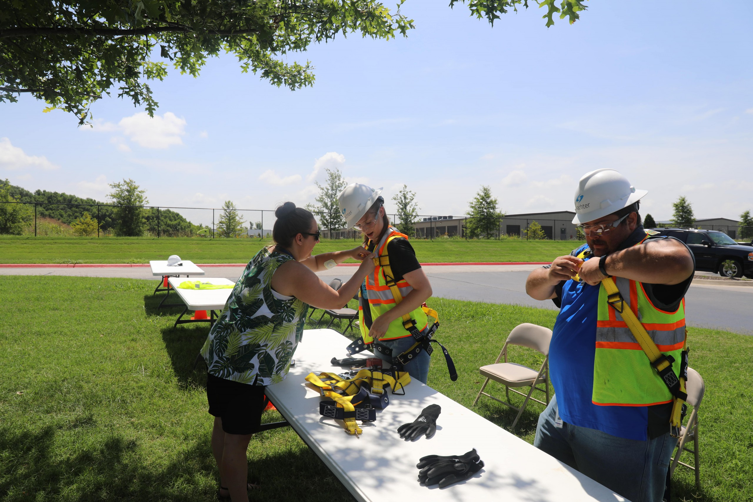 PPE Race Contest at the Wachter Safety Fair
