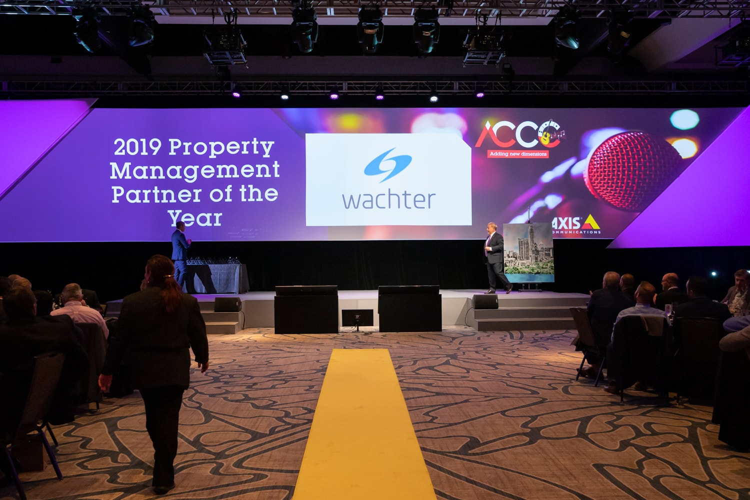 Axis Awards Wachter 2019 Property Management Partner of the Year