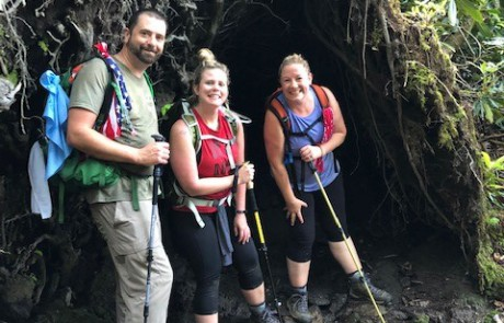 Wachter Warriors along the Foothills Trail for Trailblaze Challenge